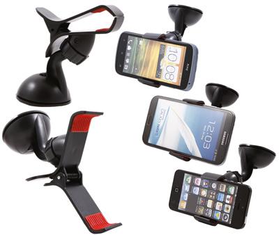 Universal Car Phone Holder 2 Cakar /Jepit 1