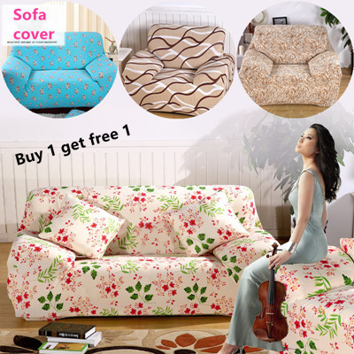 qoo10 universal sofa cover elastic sofa seat cover cushion cover pillow co furniture deco. Black Bedroom Furniture Sets. Home Design Ideas