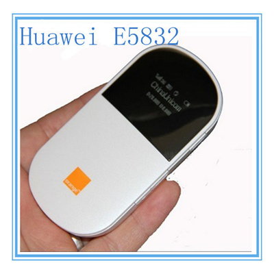 Unlocked Huawei E5832 MiFi Mobile Hospote 3G Wifi Router 3G Dongle HSPA  UMTS 2100MHzUnlocked Huawei E5832 MiFi Mobile Broadband Wifi Router  Wireless