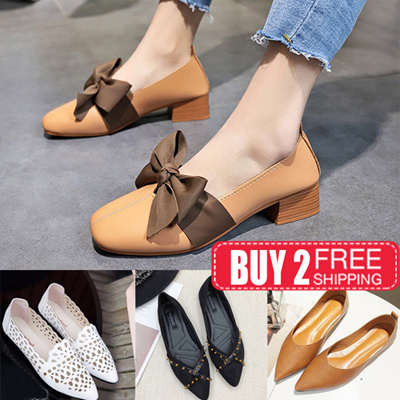 bcbcf6b44cd3 Qoo10 - ♥update 2019 new style!!♥flats shoes Wedge Heels shoes plus size  shoe...   Shoes
