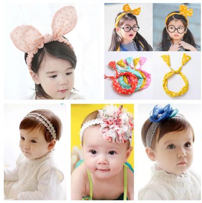 3f8748f91 Qoo10 - update 26/06/19- baby girls headband /hairband -cute design ...