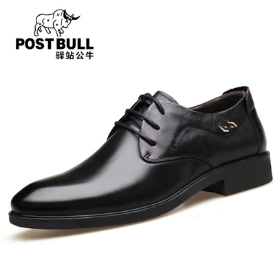 a49b81afad8d Upscale men s business casual men s shoes are brand leather British youth  band dress shoes men