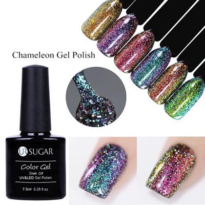 Qoo10 - UR SUGAR 7.5ml Chameleon Holographic Gel Polish Starry Sparkle  Glitter...   Cosmetics 75ba4377a7af
