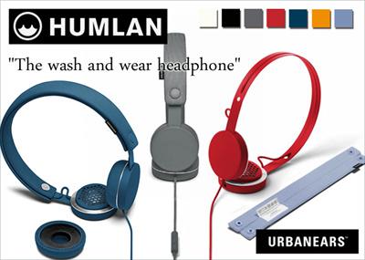 Urbanears Humlan Wired Headphone (Washable)
