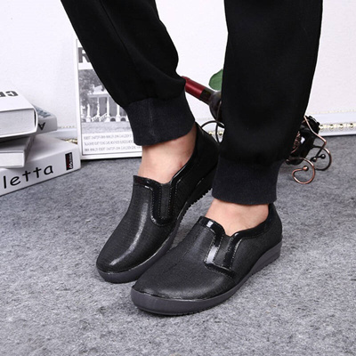 f3970de2f4e Qoo10 - US-Iraq Love boots men rubber light Non-Slip low help chef shoes men  f...   Men s Bags   Sho.