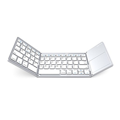 d0cbb699873 Qoo10 - [USA] Folding Bluetooth Keyboard, Jelly Comb Rechargeable Portable  BT ... : Computer & Game