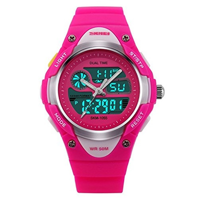 Qoo10 - [USA] Girls Watch , Analog Digital Display Outdoor Sports