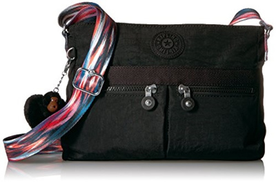 ee0d7fab67af [USA] Kipling Angie Solid Convertible Crossbody Bag, Black /Ship from USA