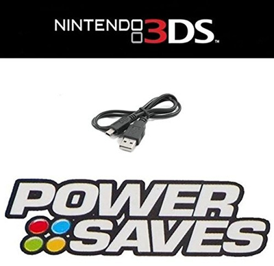USB Data Cable for Action Replay Power Saves / Power Saves Pro / Power Play  Nintendo 3DS 3DS XL 2DS