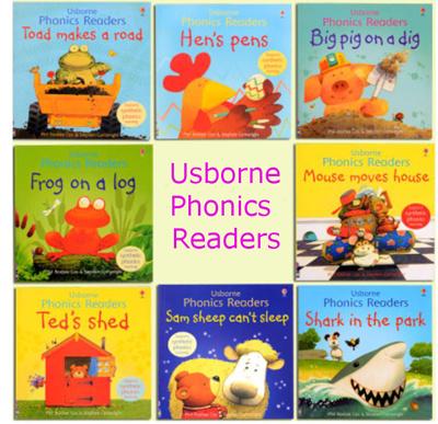Usborne Phonics Readers*Preschool books*Phonics*Early childhood  learning*Children book*