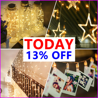 Today Grand Sale Sg Delivery From 2 9 Christmas Fairy Lights Battery Operated For Party