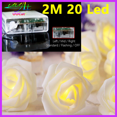 Qoo10 Roses Light Wedding decorations birthday party