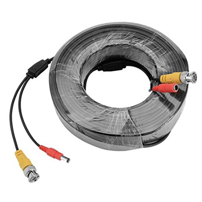 Security Camera Wire Extension | Qoo10 Uxcell Uxcell 40m 131ft Bnc Video Power Cable Security