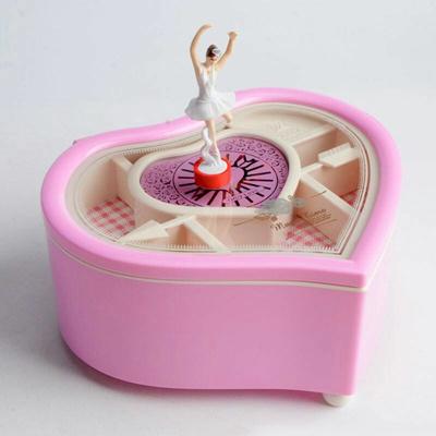 Qoo10 - Valentine's gift love heart ballerina anniversary gift music box : Restaurant & Cafe