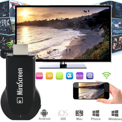 [Stock in Singapore]*Valentine* Miracast/ EzCast/ chromecast TV stick  /Receiver)Android TV Dongle HDMI WiFi Display DLNA