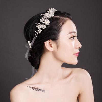Qoo10 van gogh bridal tiara korean white flower hair band hair van gogh bridal tiara korean white flower hair band hair band hair band wedding hair accessories mightylinksfo