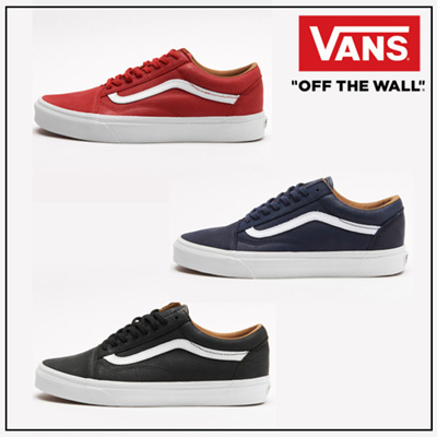 486d36aa76 Kconcept◇Direct From Korea◇Authentic◇ VANS Sneaker OLD SKOOL PREMIUM  LEATHER 3 Colors