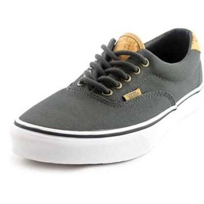 b3021d061e Qoo10 - VANS Vans Era 59 Men Round Toe Canvas Gray Skate Shoe   Bags ...