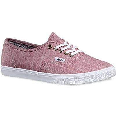 96ae753dff Qoo10 - Vans Women Authentic Lo Pro - Floral (burgundy   white)   Shoes