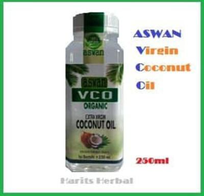 VCO Oil Aswan Extra Virgin Coconut Oil 250 Ml SJ0505