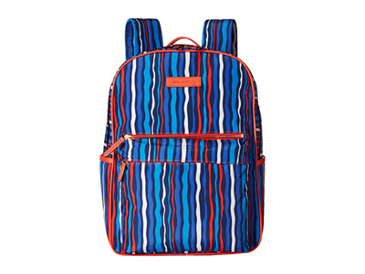 54a1ca1353 Qoo10 - (Vera Bradley) Preppy Poly Large Backpack   Men s Bags   Shoes