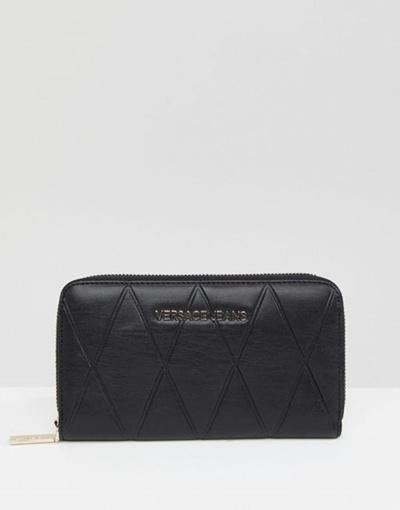 Qoo10 - Versace Jeans quilted purse   Bag   Wallet 3885a9e33e7de