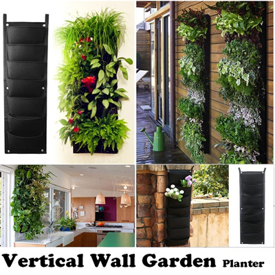 Vertical Wall Garden Planter/ DIY Plant Flower /Plant Decoration / DIY  Garden Green