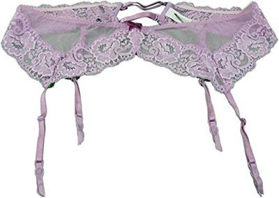 d62adc73c3b Victoria s Secret Women s Size Medium Large Dream Angels Lace Garter Belts  (Purple