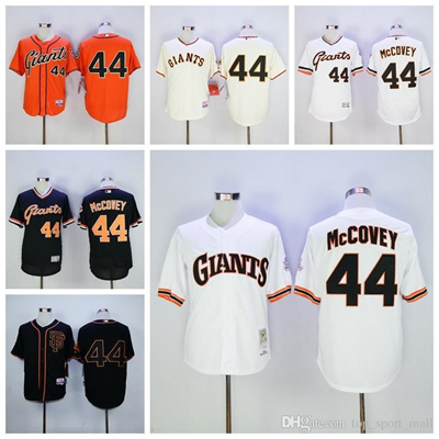 outlet store 313e2 9dd1b Vintage 44 Willie McCovey Jersey SF San Francisco Giants Willie McCovey  Baseball Jerseys Cooperstown