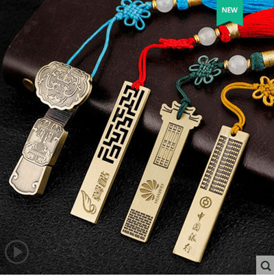 Vintage Chinese style u disk 16g creative souvenir with small gifts  teacher#39s day to send teachers gifts custom