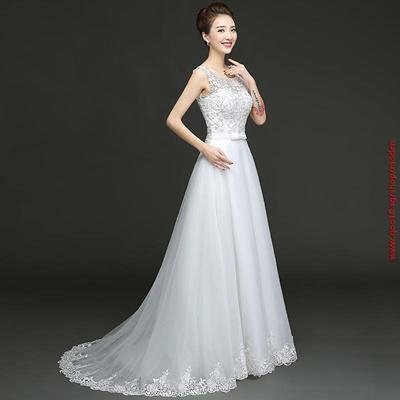 7efc71649845e Vintage lace A line Wedding Dresses 2016 Free ship Country style bridal  dress court train Lace up wedding gowns Vestido de noiva