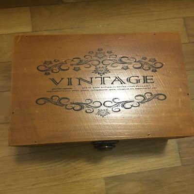 Qoo10 Vintage Lock Wood Furniture Deco