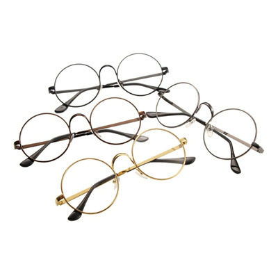 Qoo10 - Vintage Round Glasses Men Harry Potter Glasses Frame Retro ...