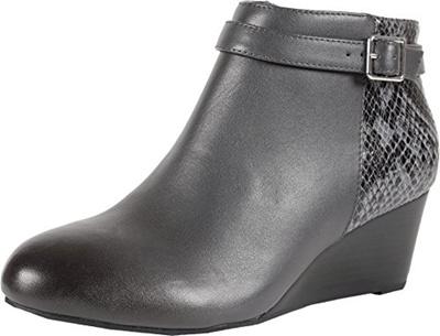 b4a145beced2 Qoo10 - Vionic VIONIC Womens Elevated Shasta Wedge Boot Grey Snake ...
