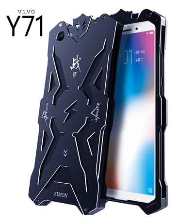 Vivo Y71 Coolest Metal Frame Bumper Case 24651