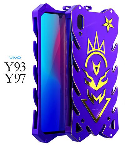 Vivo Y93 Y97 Pelindung Armor Logam