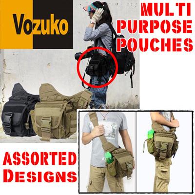 Qoo10 - ORIGINAL VOZUKO**Military**Tactical**Drop Leg Pouches ...