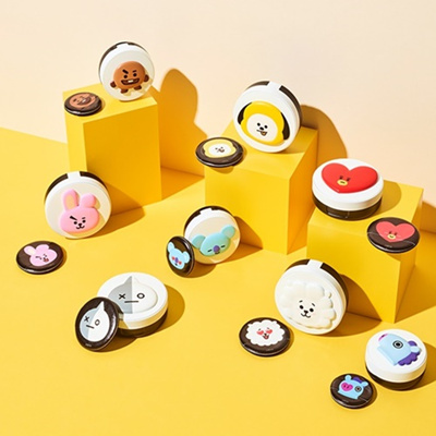 VT CosmeticVT COSMETICS BT21 Special Limited Cheek Cushion 6g / 0 21oz / 3  Colors /ttbeauty