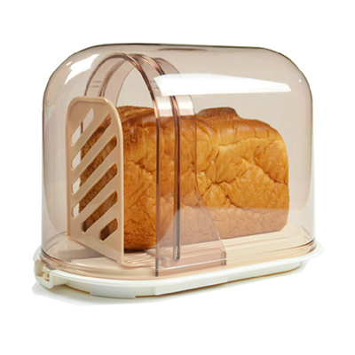 W Japan Imported Bread Slicer Cutting Bread Storage Box Toast Bread Knife Bread  Storage Box