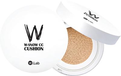Qoo10 Wlab Snow Cc Cushion Cosmetics