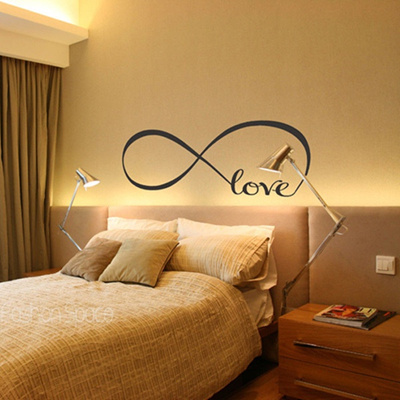 Qoo10 - Wall Art Love Letters Art Wall Stickers Decals Decoration ...