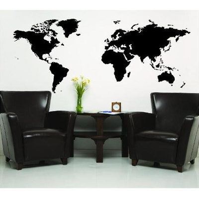 Qoo10 wall sayings vinyl lettering world map black wall saying wall sayings vinyl lettering world map black wall saying vinyl lettering home decor decal stickers quotes gumiabroncs Choice Image