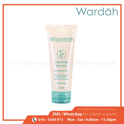 Wardah Essential Facial Wash 60ml
