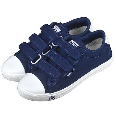 Qoo10 - Warrior Velcro canvas shoe versatile back of couples low cut shoes  for...   Men s Bags   Sho. 4251228a5
