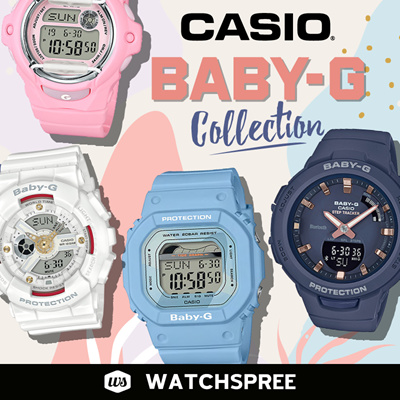 77afeb66e6 Watchspree*APPLY SHOP COUPON* CASIO BABY-G COLLECTION! Free Shipping and 1  Year Warranty!