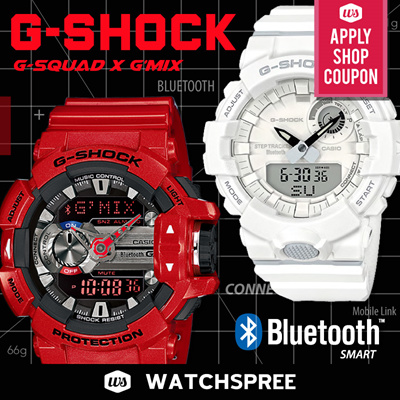 5c39965da53  APPLY SHOP COUPON  G-SHOCK Bluetooth® Watches Series! G MIX GBA400