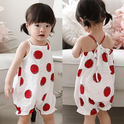 59d752a2efc7 Qoo10 - Watermelon baby romper  baby romper toddler romper   Baby ...