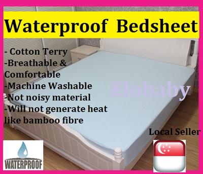 Qoo10 Waterproof Bedsheet Baby Maternity