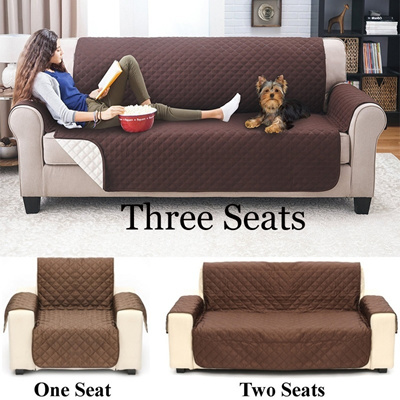 Waterproof Couch Sofa Protector Cover Anti Skid Dirt Proof Suede Pet Dog Cushion Mat Sofa Slipcover