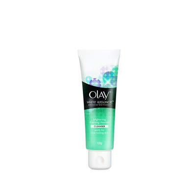 OLAY WHITE RADIANCE PURIFYING FOAM CLEANSER 100G